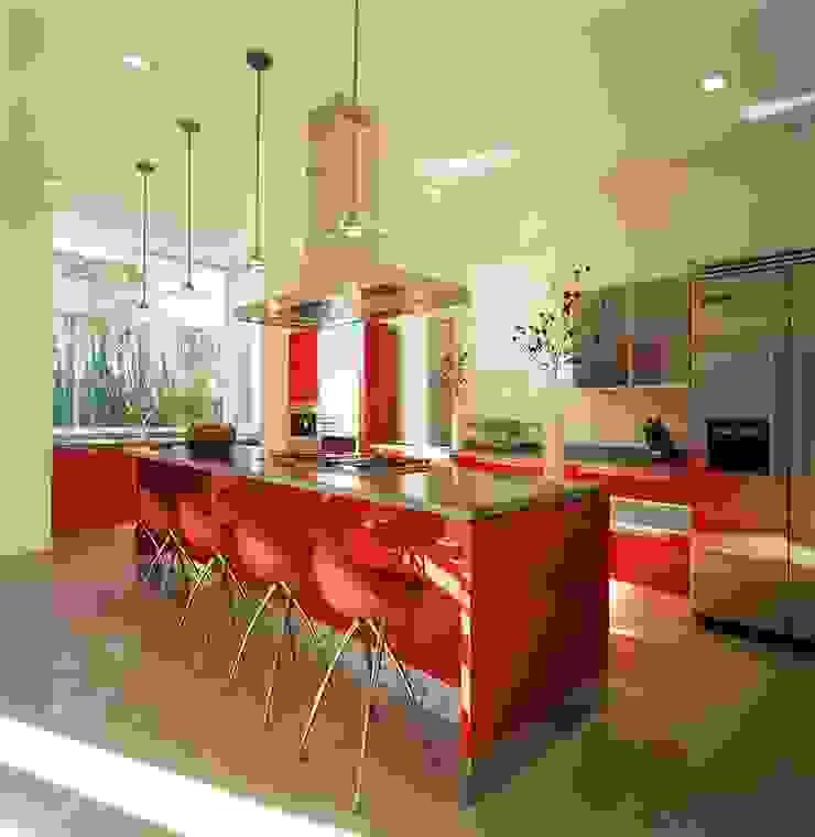 Casa Feryvale, 2006 Cocinas modernas de Taller Luis Esquinca Moderno