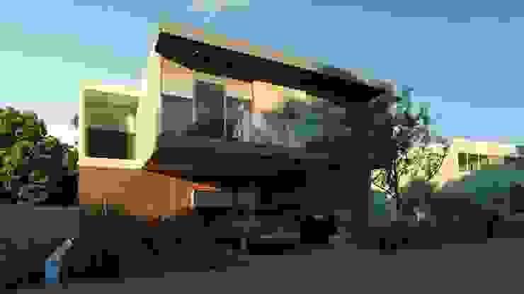 Fachada Principal Casas modernas de TaAG Arquitectura Moderno