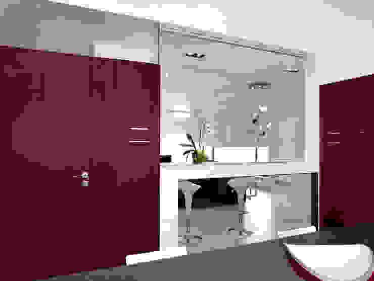 La cucina Ingresso, Corridoio & Scale in stile moderno di Studio 4e Moderno