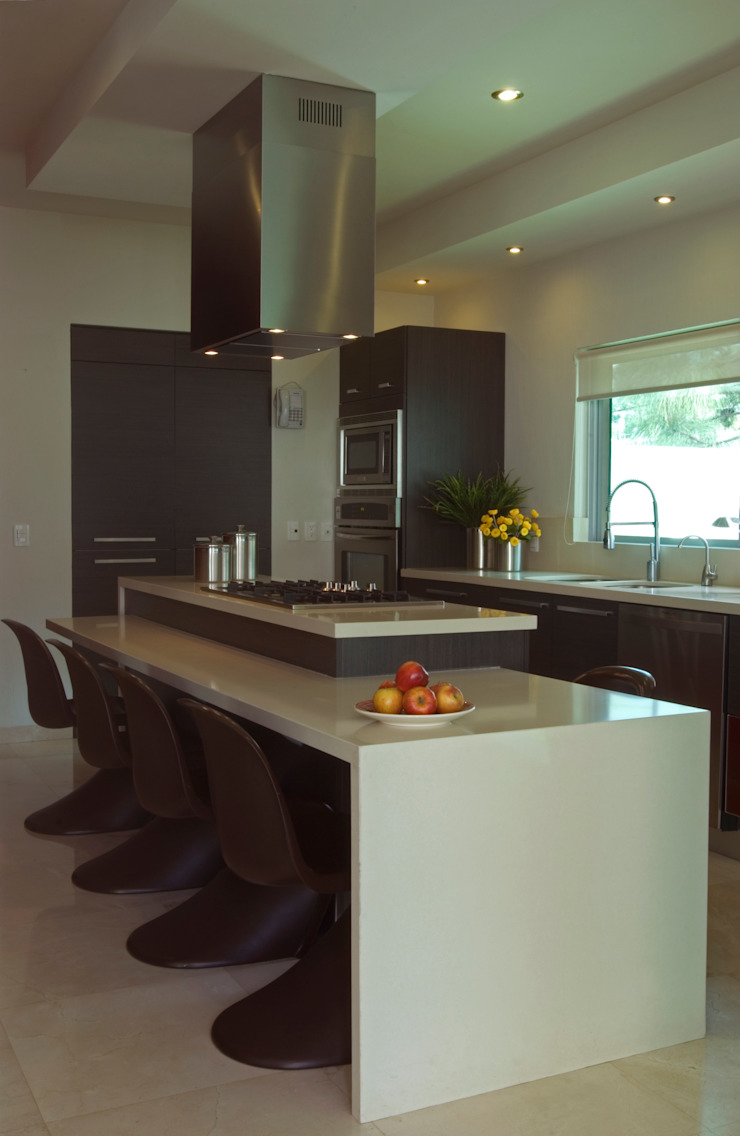 Vista de la cocina Cocinas modernas de TaAG Arquitectura Moderno