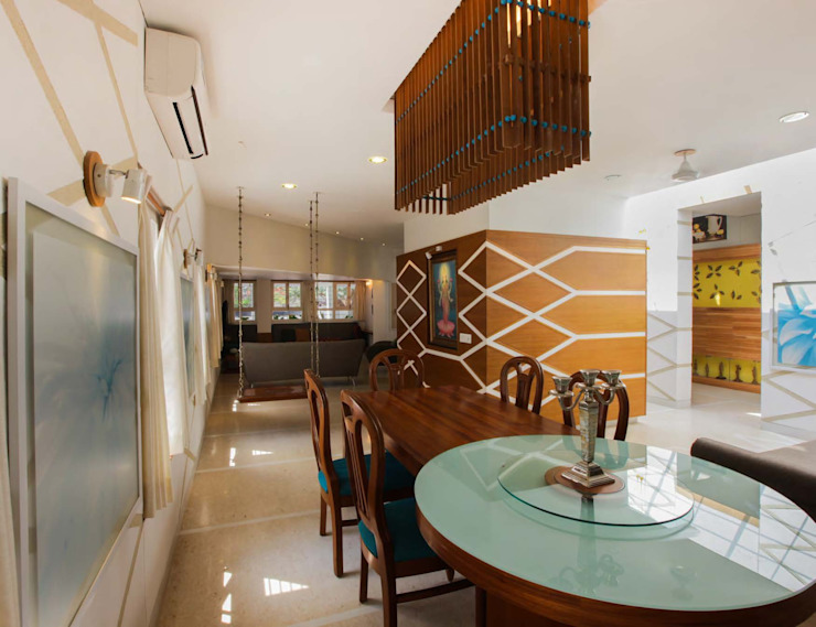 FRAGMENT HOUSE: eclectic  by Gaurav Roy Choudhury Architects,Eclectic