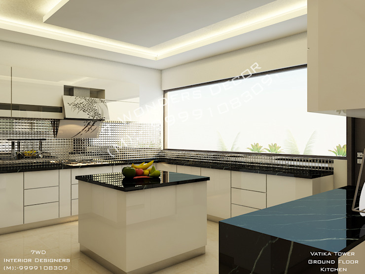 COLOR IN DE AIR… .. Rooms by 7 WONDERS DESIGNING INSTITUTION PVT. LTD.