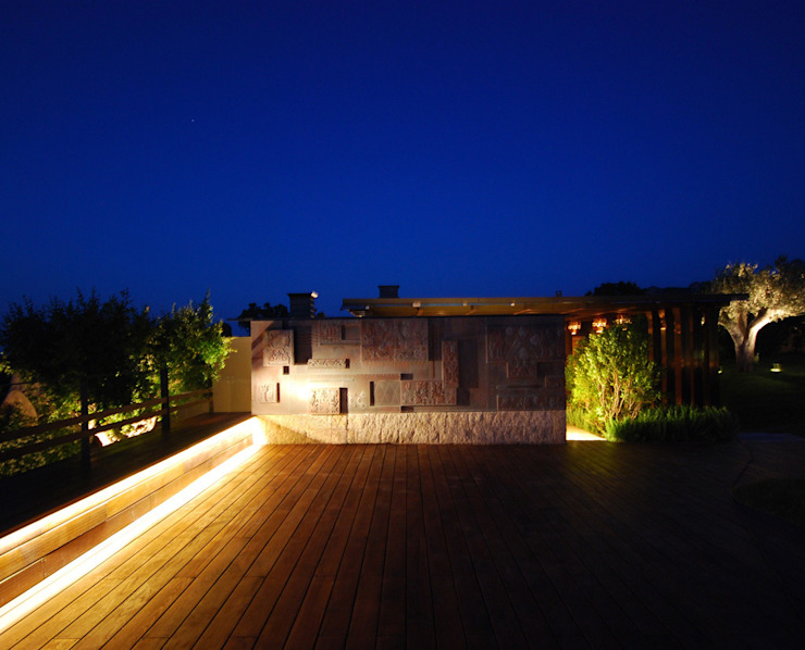 Villa Privata Costa Smeralda Case moderne di Cannata&Partners Lighting Design Moderno