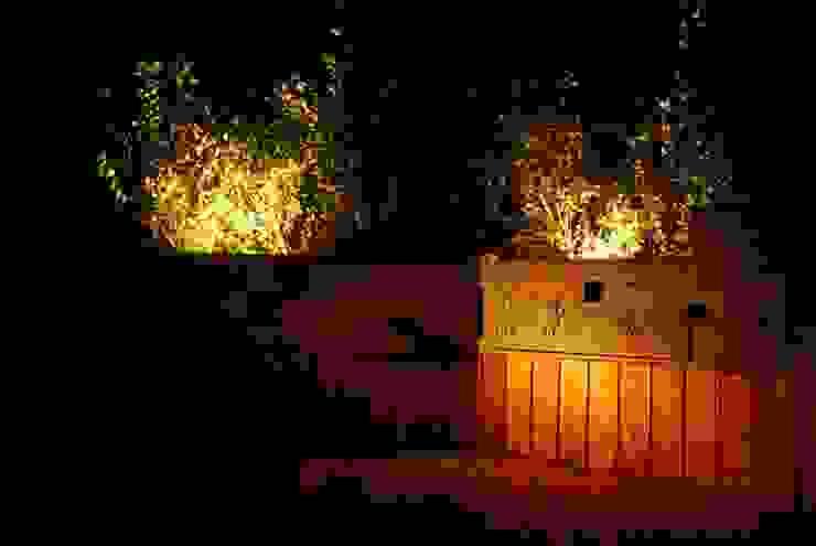 Private Villa in the Emerald Coast Cannata&Partners Lighting Design Modern houses