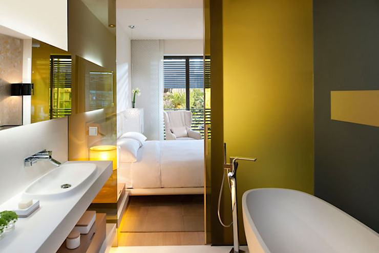 Hotel Mandarin Oriental - Barcelona Baños de estilo moderno de TONO BAGNO | Pasión por tu baño Moderno