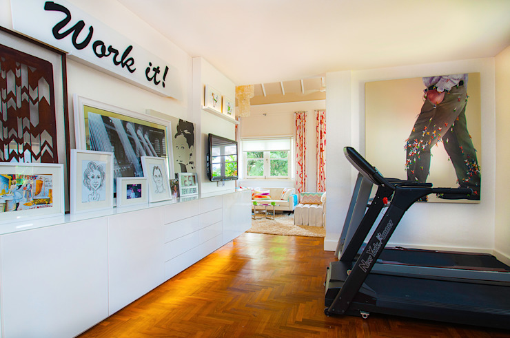 International Prop Award Winner-Best Interior Design Singapore 2013 Colonial style gym by Design Intervention Colonial