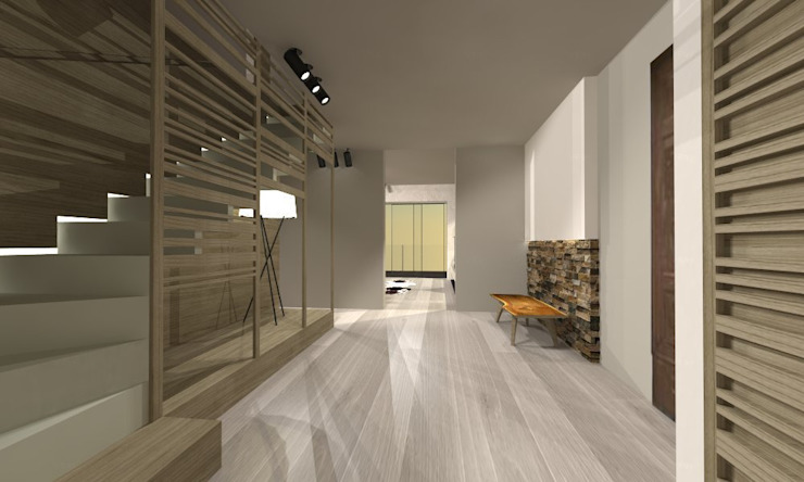 VILLA SAINT TROPEZ_2014 di G*AA - Giaquinto Architetti Associati Moderno