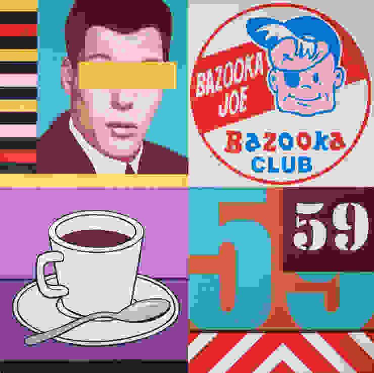 bazooka joe par homify Moderne