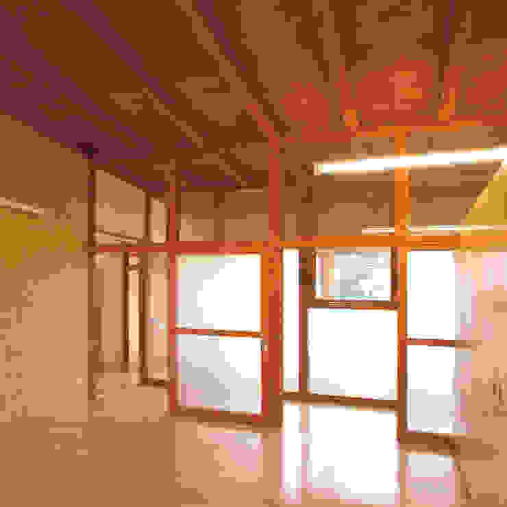 花壇の家 モダンスタイルの寝室 の ユミラ建築設計室 モダン