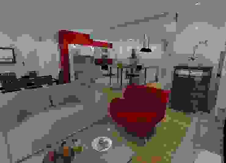 Appartement parisien Paris 11 Salle à manger moderne par In'Archy Moderne
