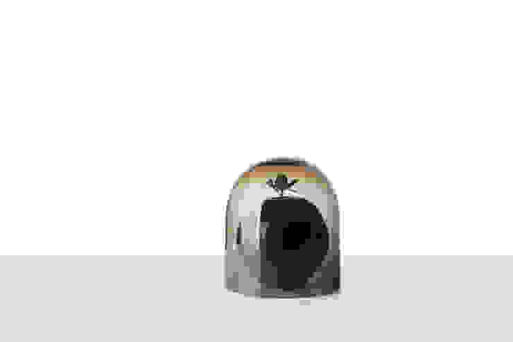 ANTIMATTER  VASE with smokey bell: minimalist  by jakub, Minimalist