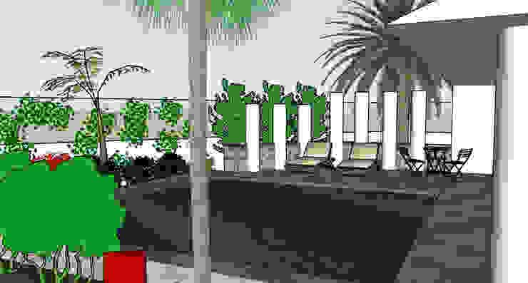 Art d'Esprit Eclectic style garden