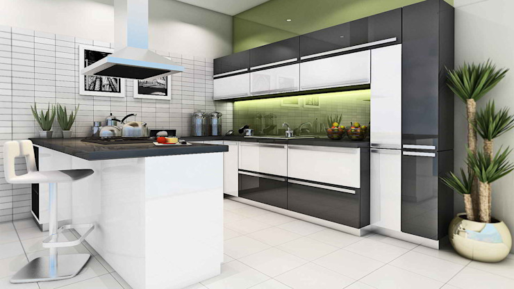 Modular Kitchen Rooms by K7 Lifestyle