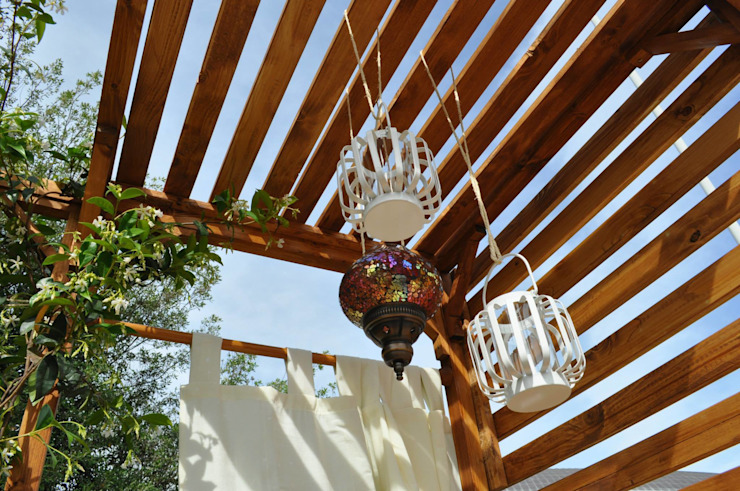 Balcone esotico Balcone, Veranda & Terrazza in stile tropicale di Labs architetti Tropicale