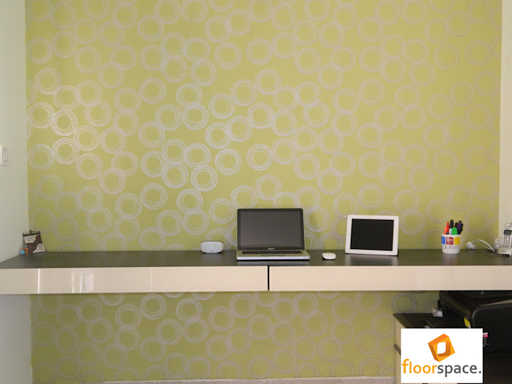 Project Encore - Home Office Desk Minimalist houses by Floorspace Minimalist
