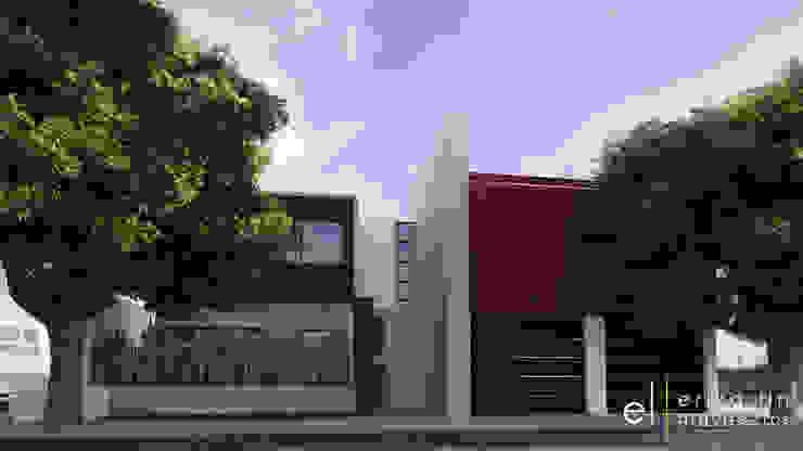 Residencia Hacienda Agua Caliente de ERIKA LIN Minimalista