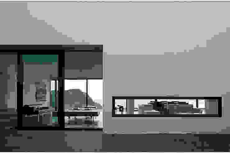 AIBS Balcon, Veranda & Terrasse modernes par AABE Moderne
