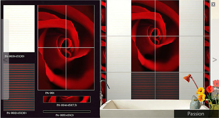 Digital Tiles Highliters: asian  by amazing print media,Asian