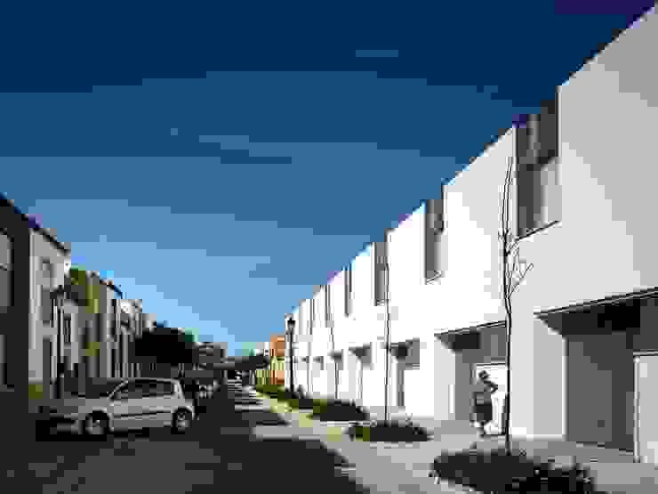 Vista exterior desde calle Hermanas de la Caridad Espacios de gabriel verd arquitectos