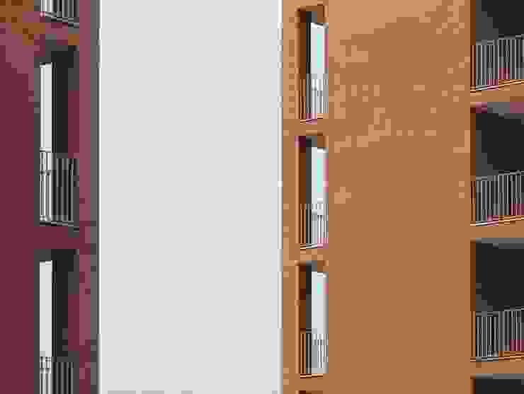 """COMPLESSO RESIDENZIALE """"POLINA"""" di Alberto Izzo & Partners Moderno"""