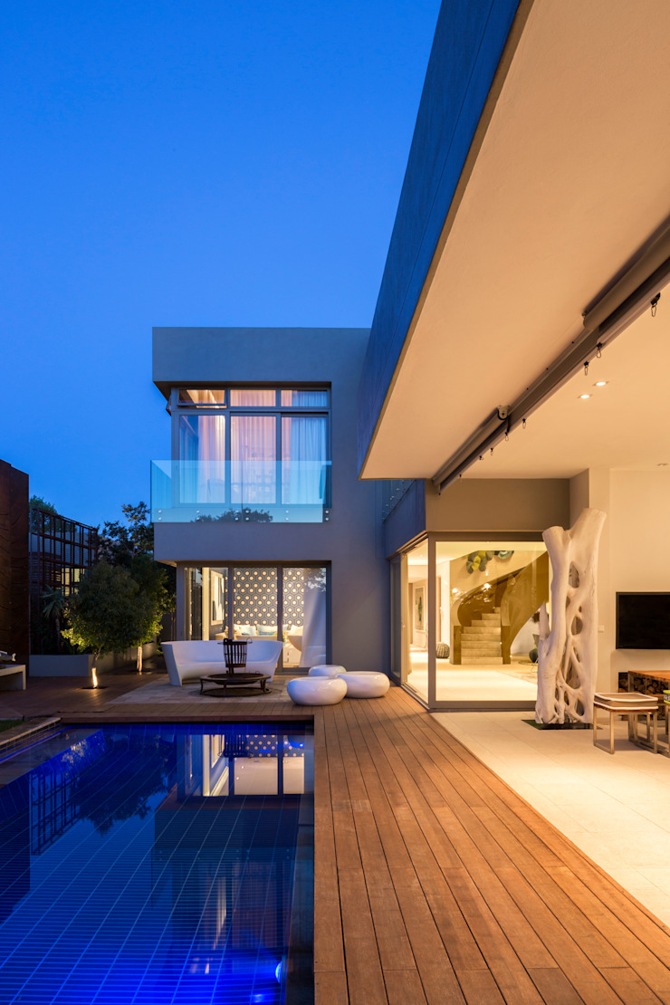 House Shoeman Minimalist pool by C7 architects Minimalist