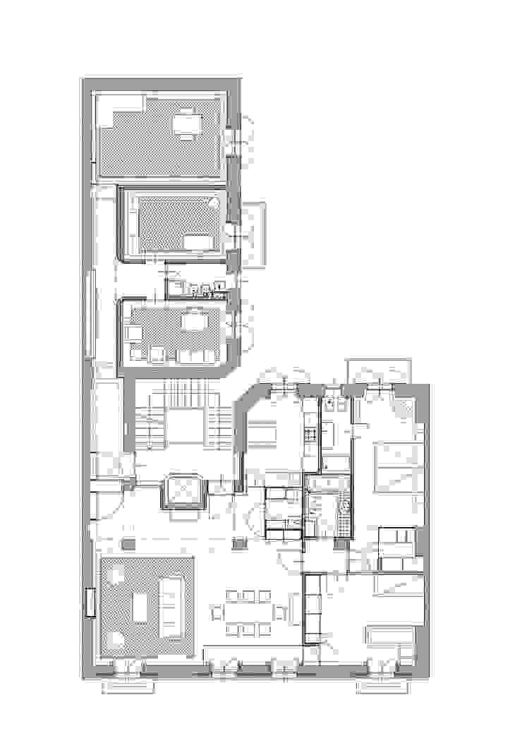 Abitazione con studi professionali di auge architetti