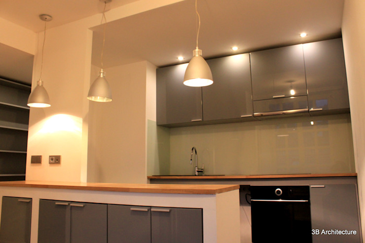 Moderne keukens van 3B Architecture Modern