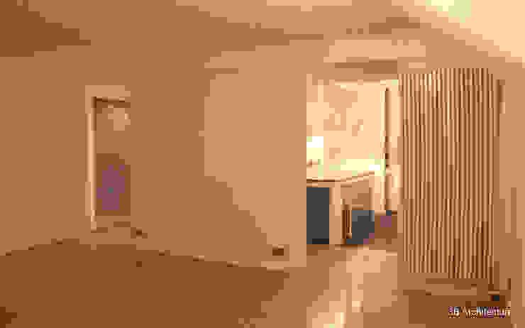 Moderne woonkamers van 3B Architecture Modern