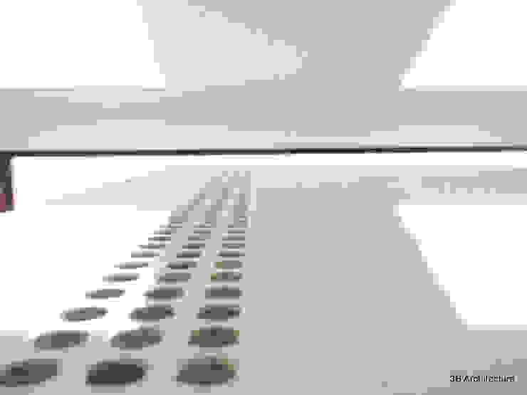 Laque et brillance Chambre moderne par 3B Architecture Moderne