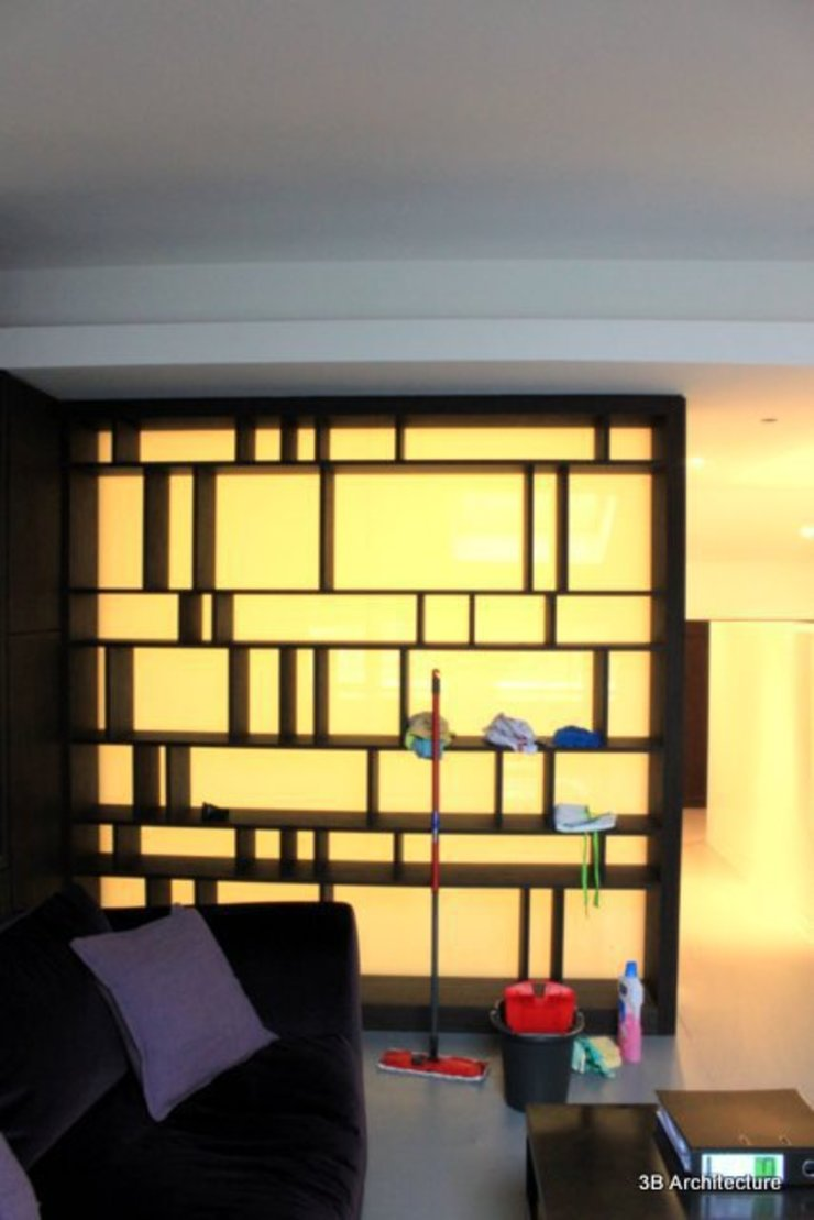 Bibliotheque Chambre moderne par 3B Architecture Moderne