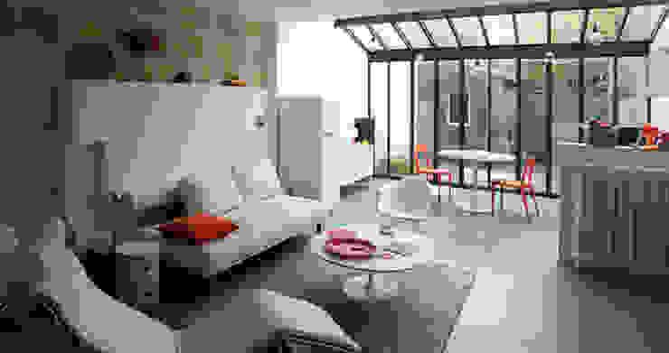 Maison_Hermitage Maisons modernes par dauphins_architecture Moderne