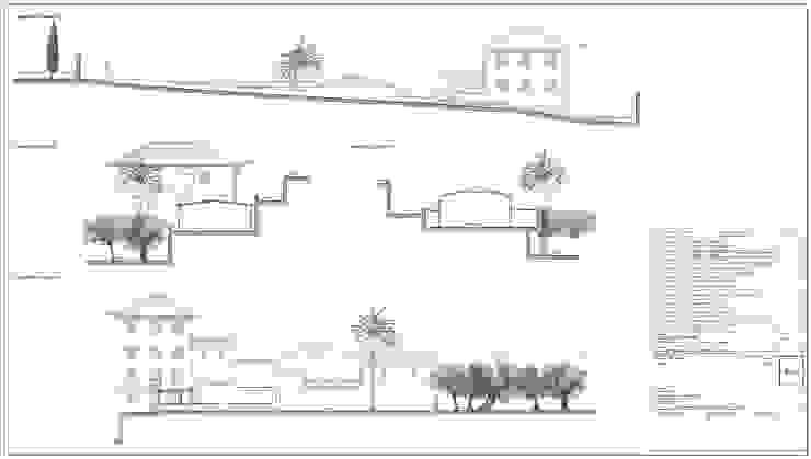 Tav. 4 (Stato attuale) di Alessio Costanzo Architetto Mediterraneo