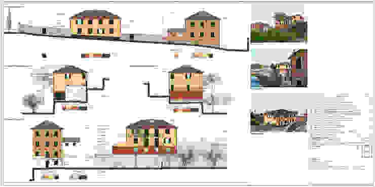 Tav. 9 (Progetto) di Alessio Costanzo Architetto Mediterraneo