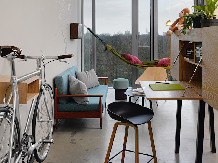 MIKILI – Bicycle Furniture:  tarz Oturma Odası,
