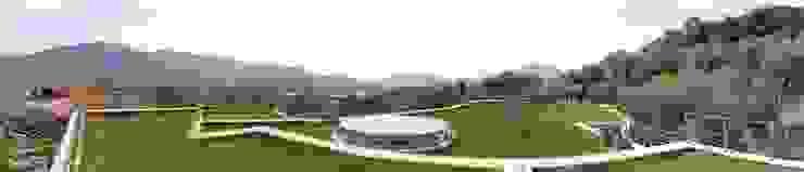 roofgarden di Studio di architettura Linea18 Rurale