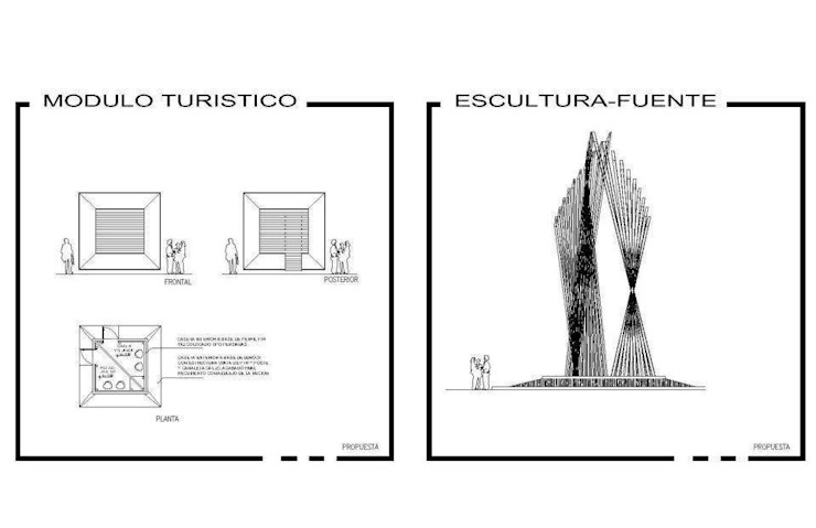 imagen y mobiliario urbano de AE ARQUITECTOS