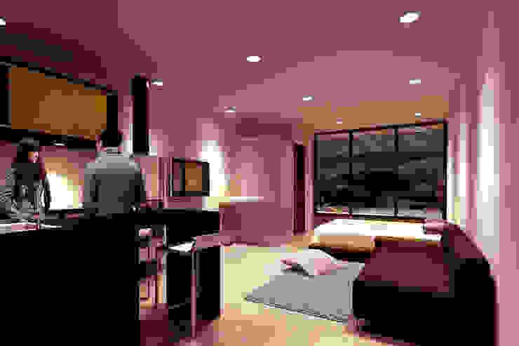 CREEL: HOTEL ECOTURISMO Dormitorios modernos de FACTOR: RECURSO Moderno