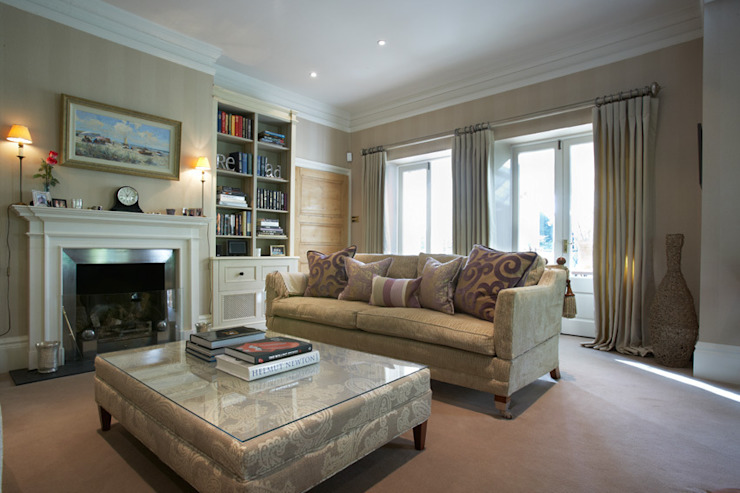 Sitting Room in Country House Classic style living room by Barkers Interiors Classic