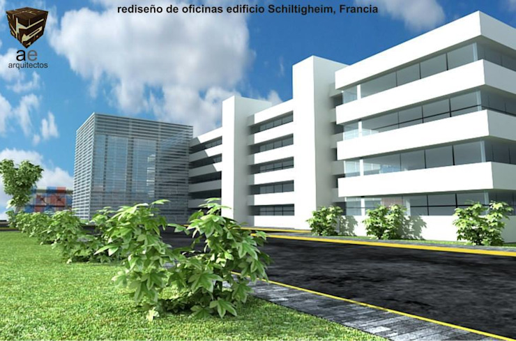 rehabilitación bodegas y oficinas de AE ARQUITECTOS