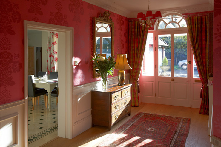 Entrance Hall Classic style corridor, hallway and stairs by Barkers Interiors Classic