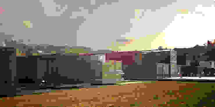 CREEL: HOTEL ECOTURISMO Casas modernas de FACTOR: RECURSO Moderno