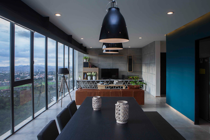 Dining room by Taller David Dana Arquitectura, Modern