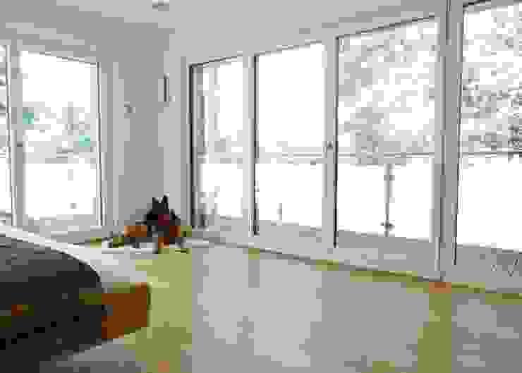 la casa como espacio vital Dormitorios de estilo moderno de hollegha arquitectos Moderno