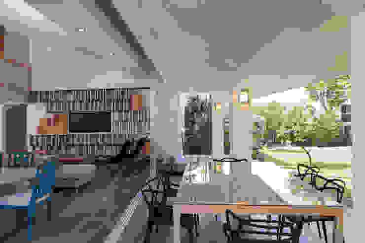 Remodelacion Casa Cuernavaca Comedores modernos de Taller David Dana Arquitectura Moderno