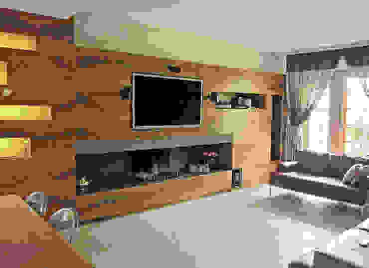 LIVING Case moderne di M@G Architettura&Design Moderno
