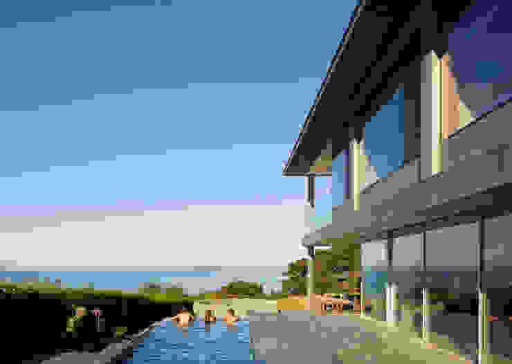 Couin de Vacque Moderne Pools von JAMIE FALLA ARCHITECTURE Modern