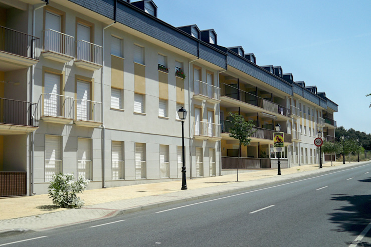 87 viviendas en Navaluenga de Juan Jose Hernanz Manrique Clásico
