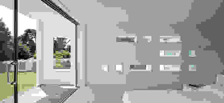 Le Foin Bas Moderne slaapkamers van JAMIE FALLA ARCHITECTURE Modern