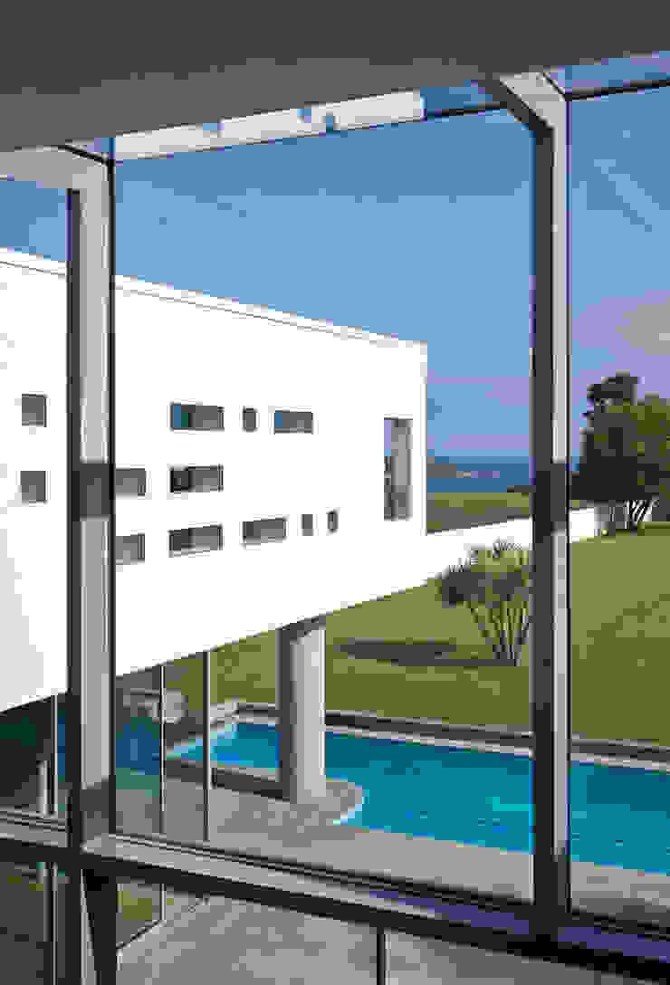 Le Foin Bas Modern windows & doors by JAMIE FALLA ARCHITECTURE Modern