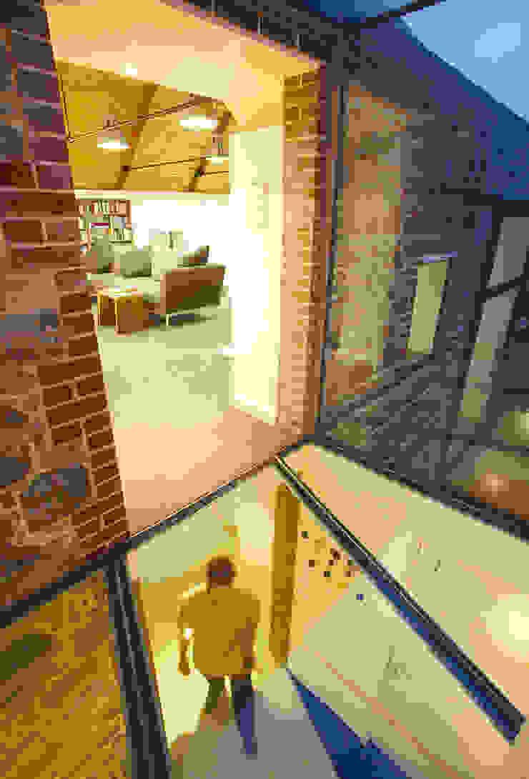 La Concha Rustic style corridor, hallway & stairs by JAMIE FALLA ARCHITECTURE Rustic